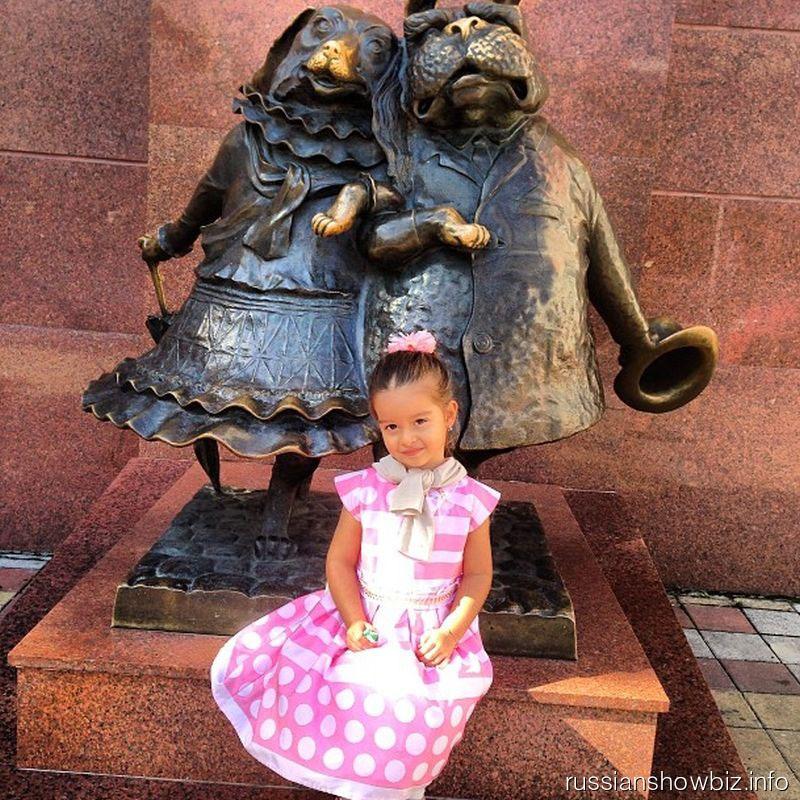 Дочь Ксении Бородиной
