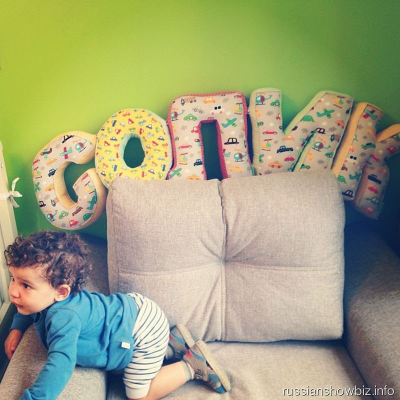 Сын Анфисы Чеховой в своей детской комнате