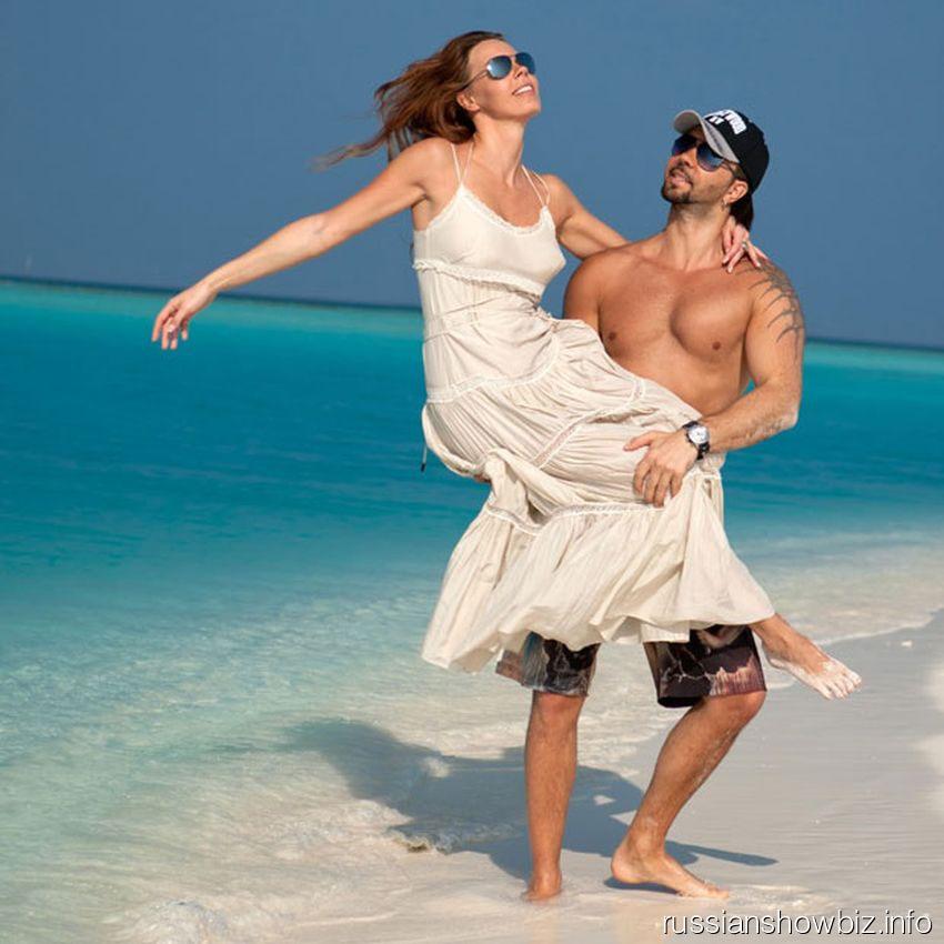 Днис Клявер с женой