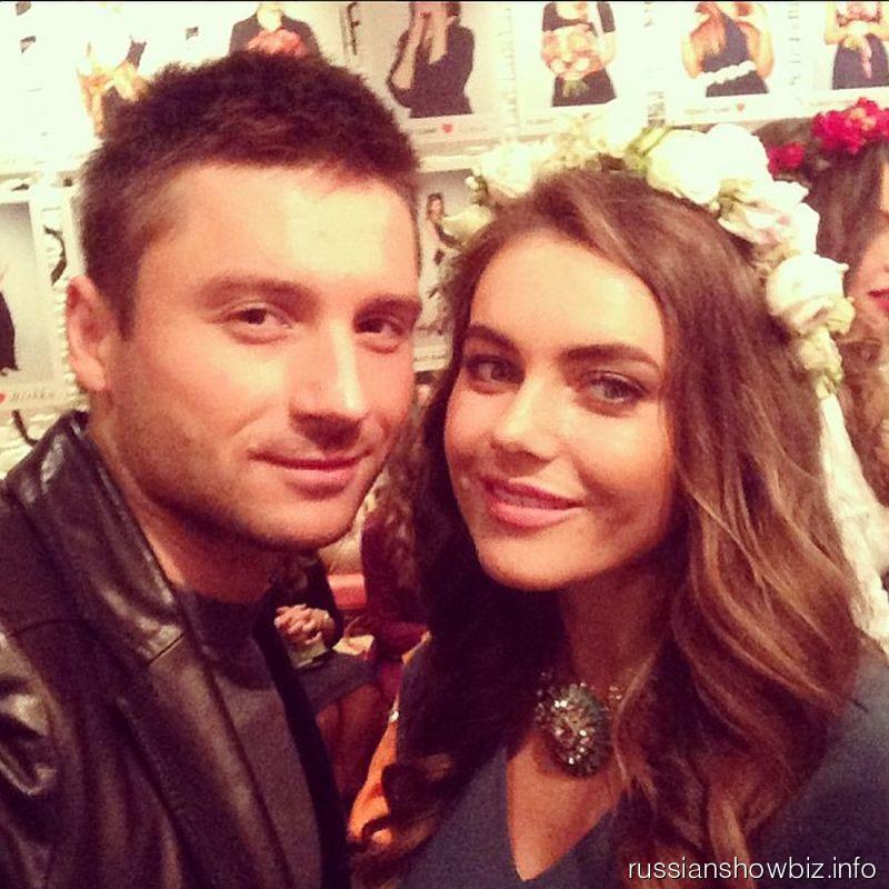 Сергей Лазарев и Виктория Крутая