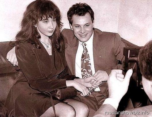 Андрей Разин и Наталья Грозовская более 20 лет назад