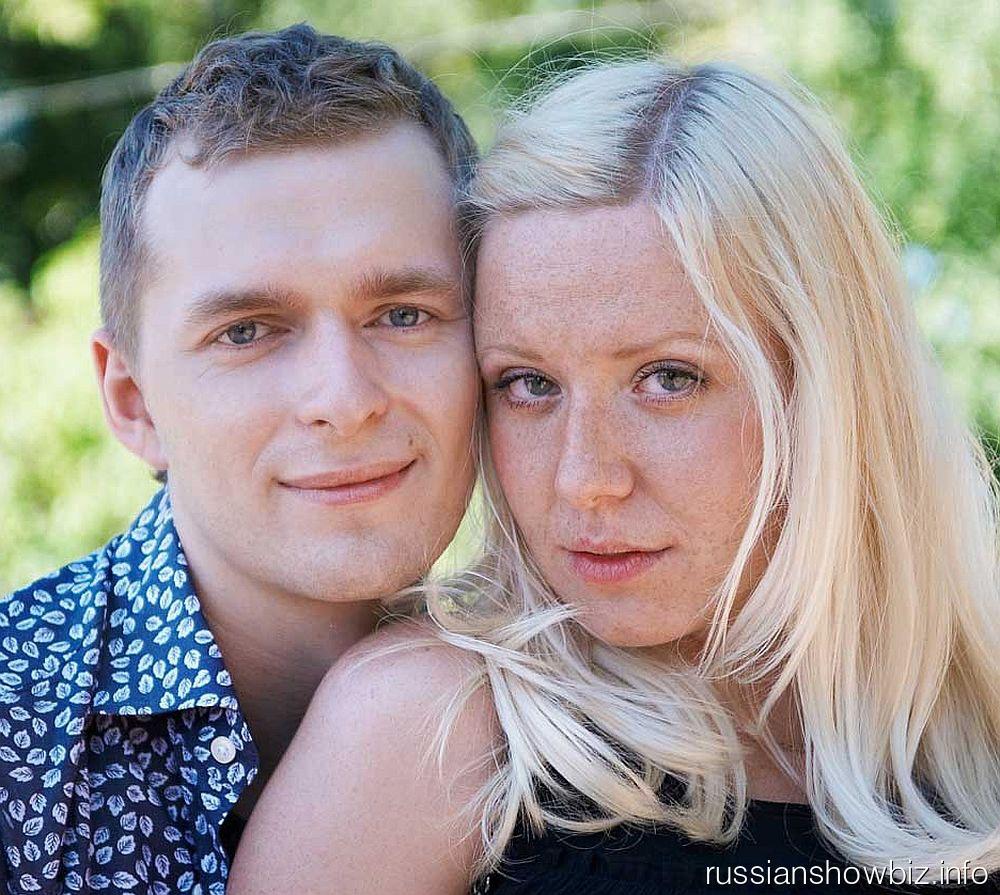 Мария Шекунова с мужем