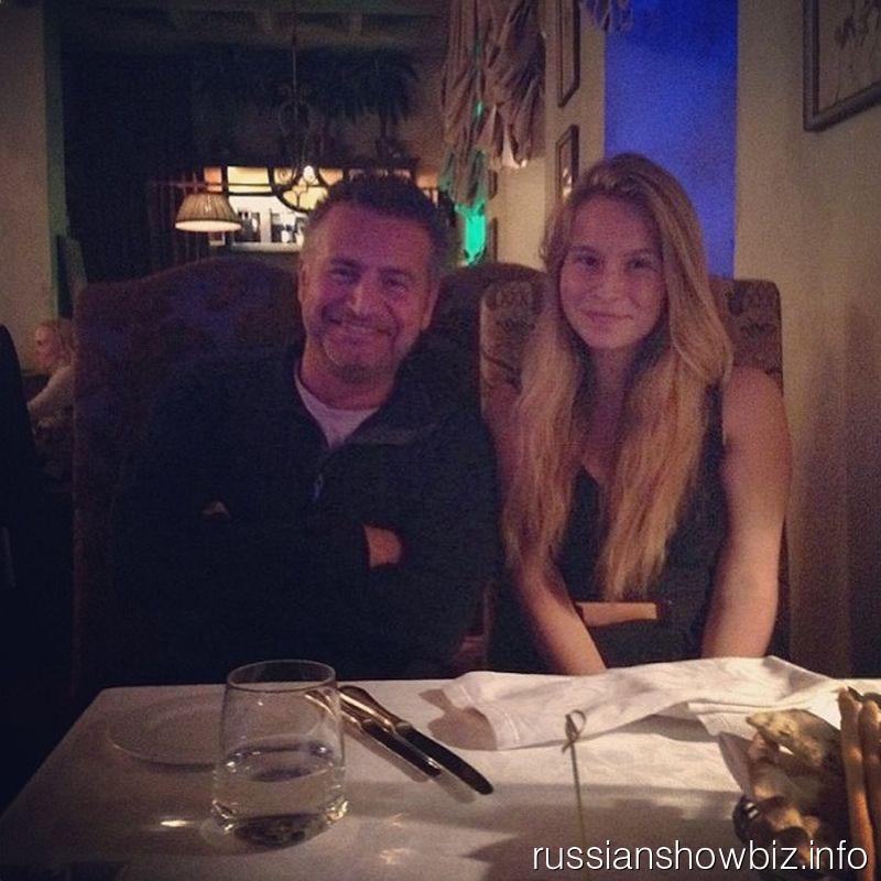 Леонид Агутин с дочкой Полиной