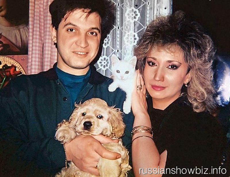 Игорь Капуста и Ирина Аллегрова