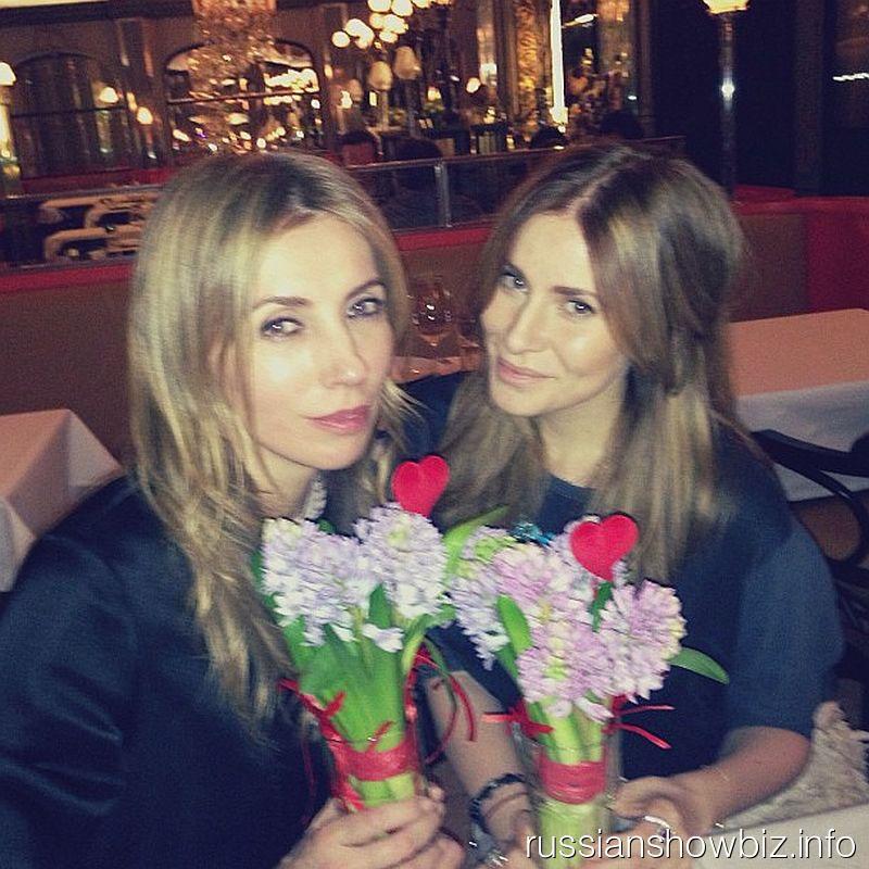 Светлана Бондарчук и Тата Мамиашвили