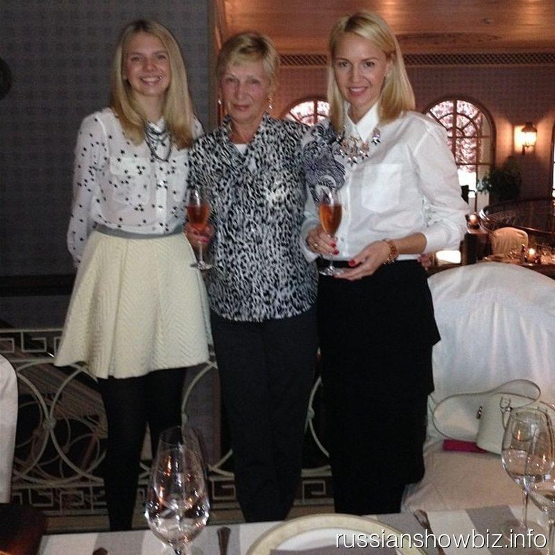 Юлия Бордовских с мамой