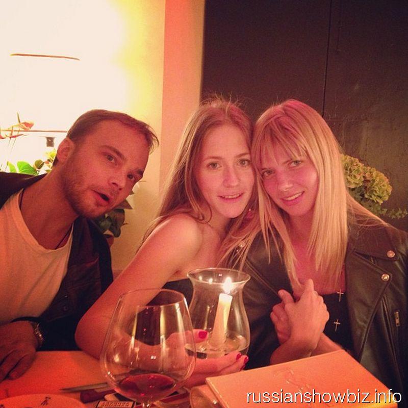 Андрей Чадов, Юлия Аршавина и Настя Задорожная