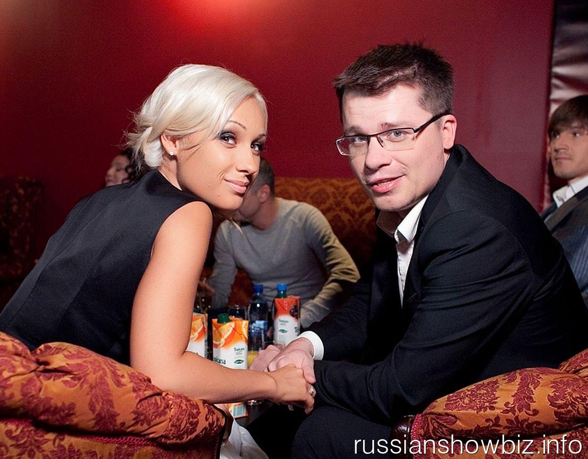 Гарик Харламов с ывшей женой Юлией