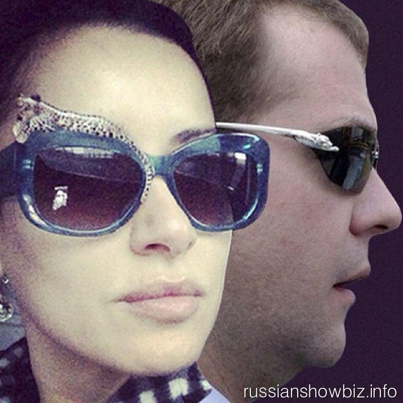 Тина Канделаки и Дмитрий Медведев