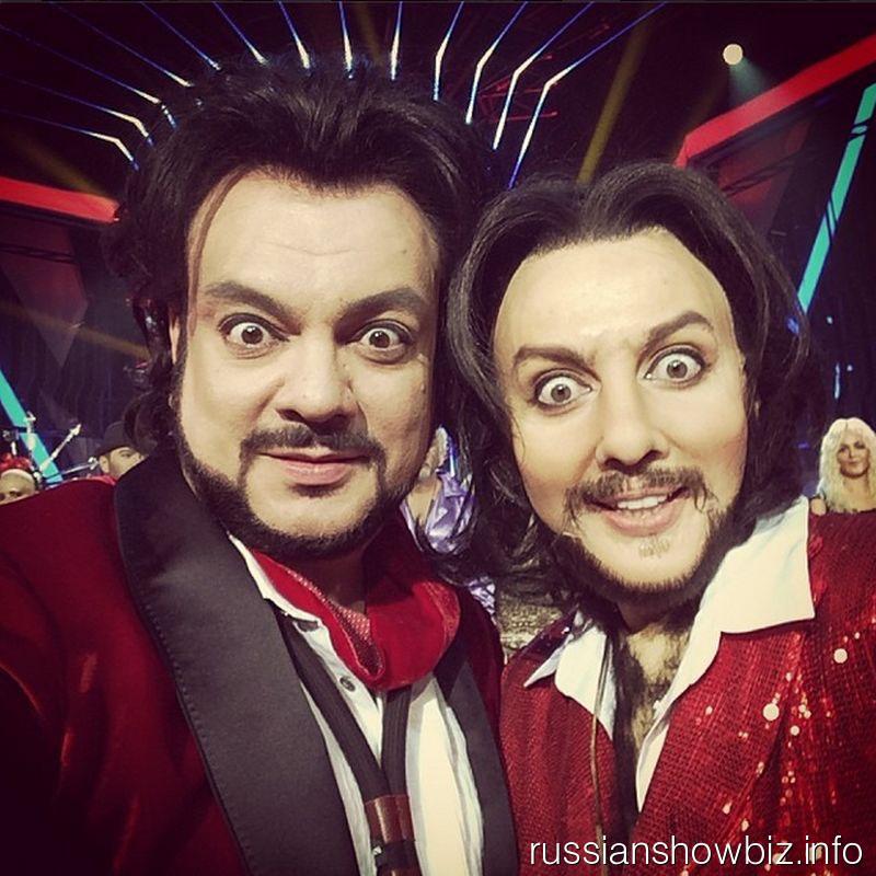 Филипп Киркоров и Ольга Полякова