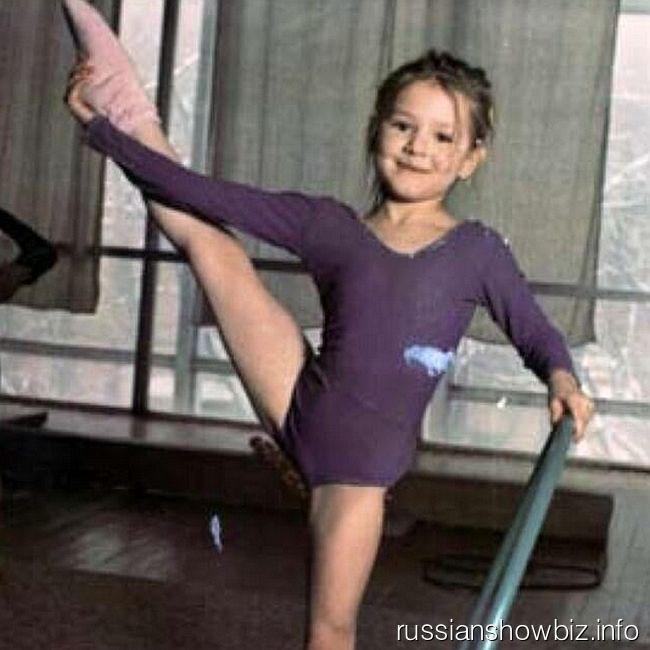 Мария Кожевникова в детстве