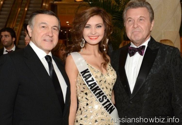 Лев Лещенко с Мисс Казахстан