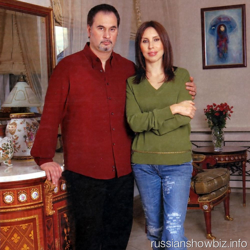 Валерий Меладе с женой