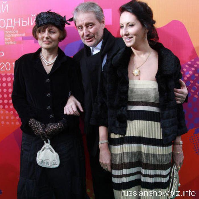 Галина Аксенова, Вениамин Смехов и Алика Смехова