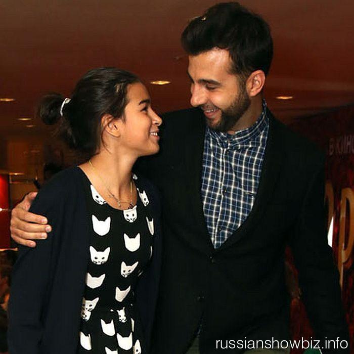 Иван Ургант с дочерью