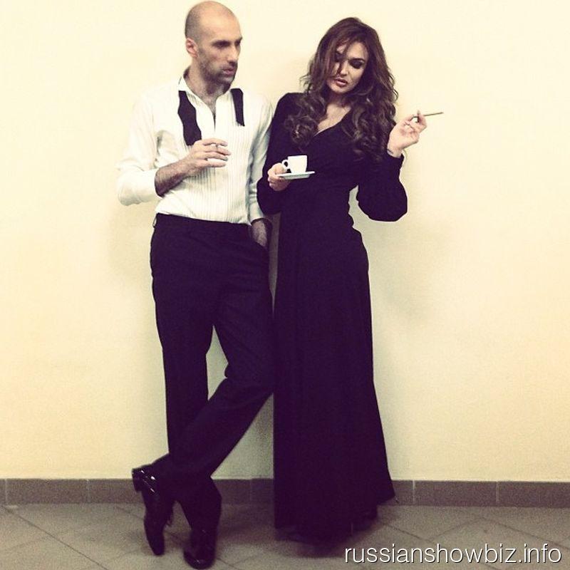 Евгений Папунаишвили и Алена Водонаева