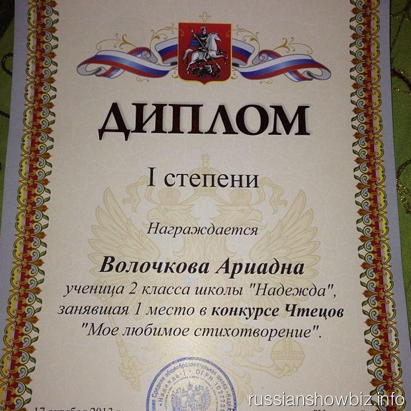 Собачка Анастасии Волочковой