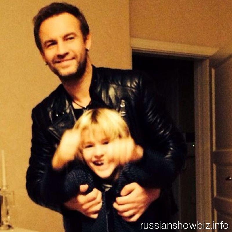 Роман Черницын с сыном Артемом