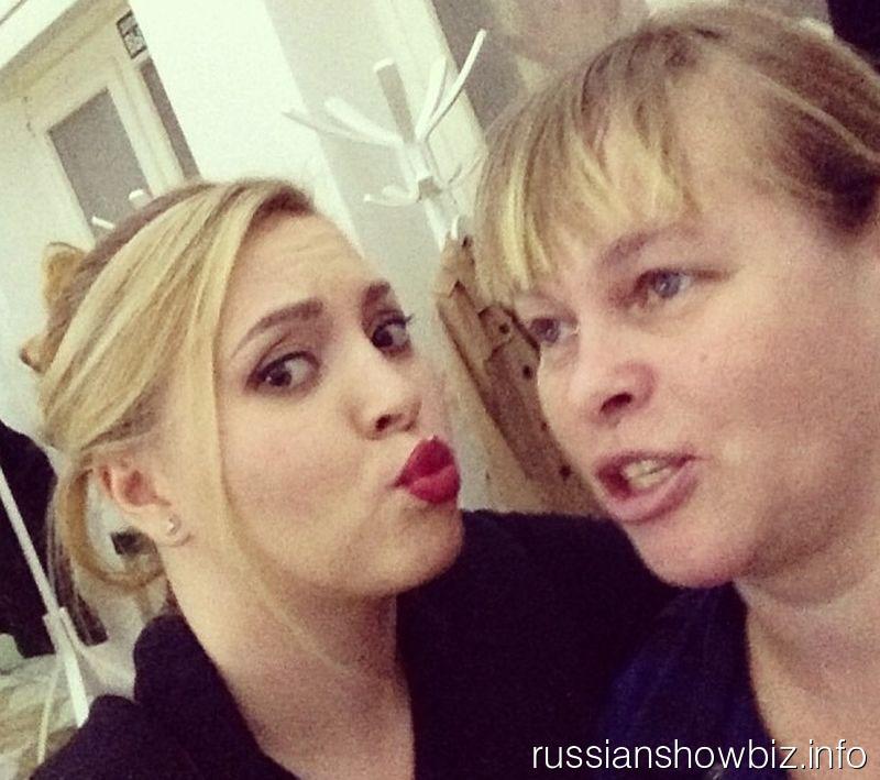 Светлана Курицына с мамой