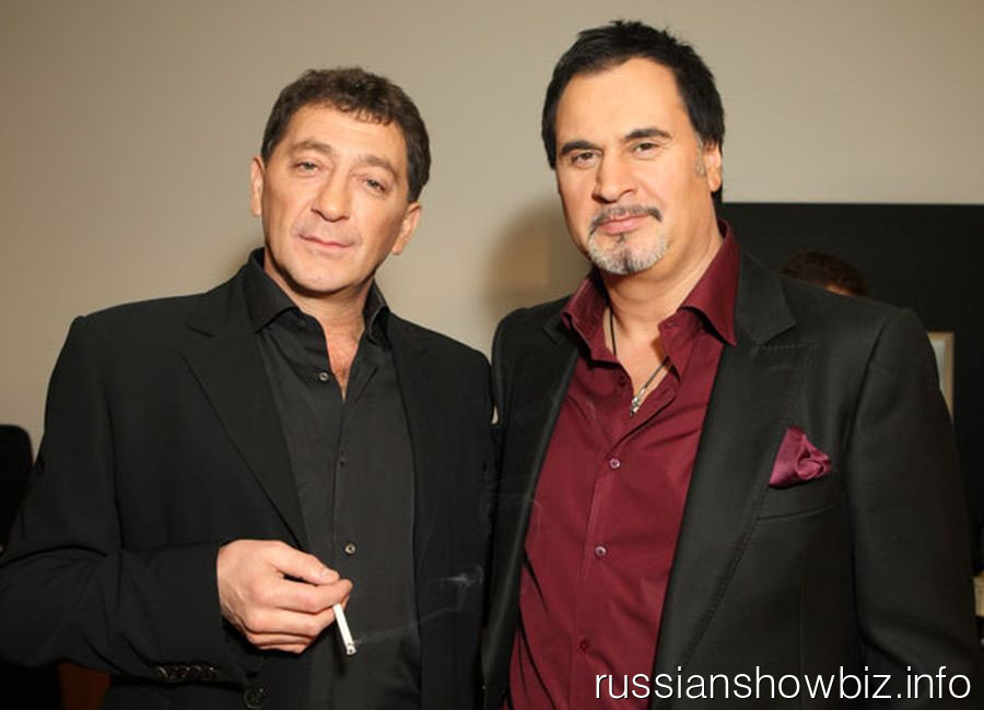 Григорий Лепс и Валерий Меладзе