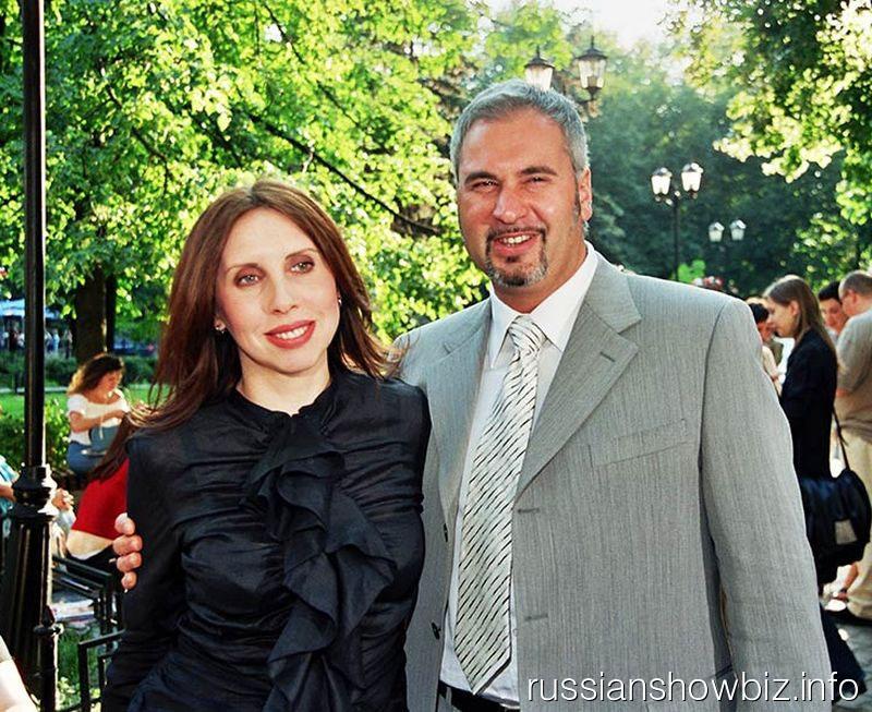 Валерий Меладзе с женой