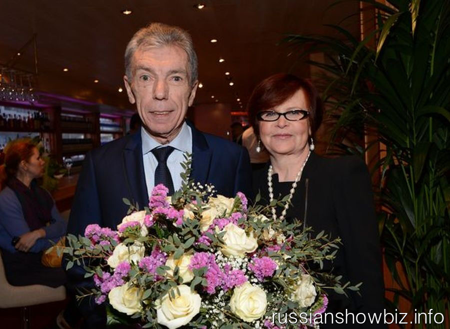 Юрий Николаев с женой