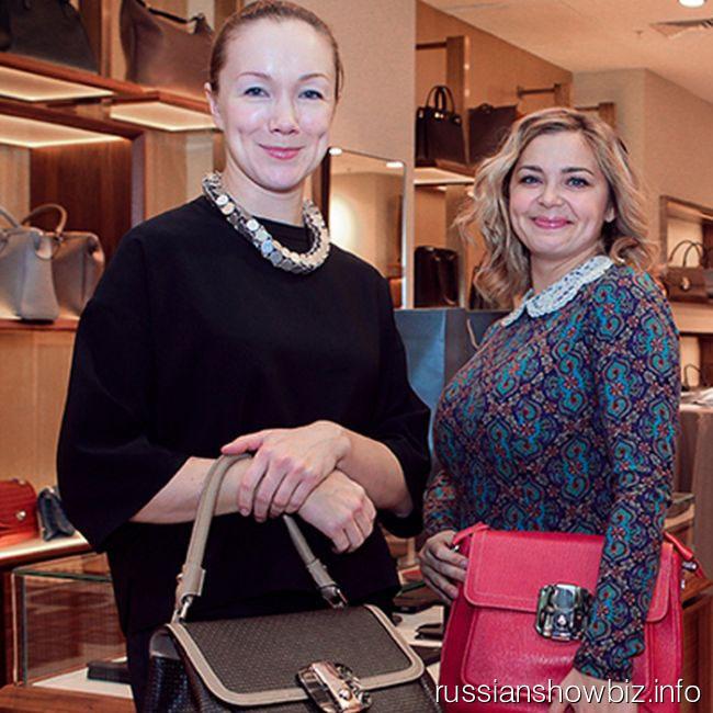 Дарья Мороз и Ирина Пегова