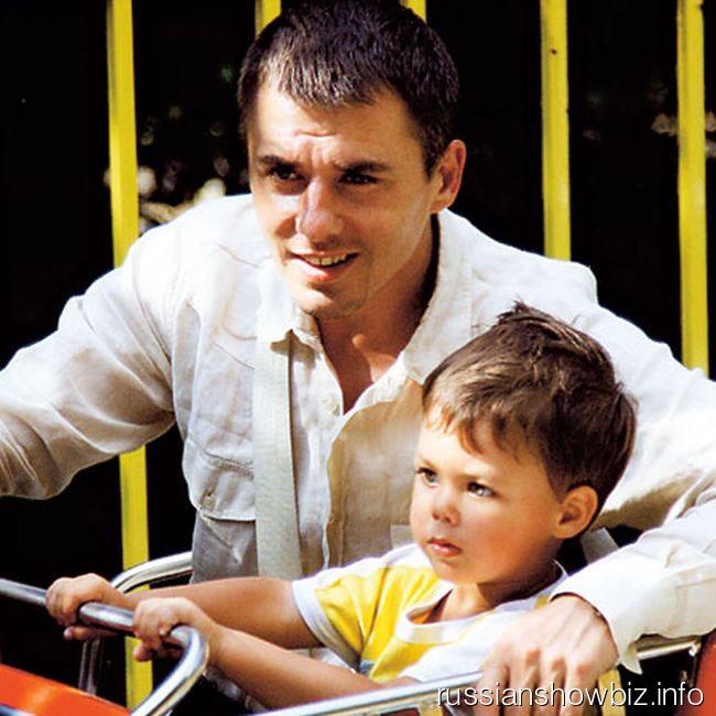 Игорь Петренко с сыном