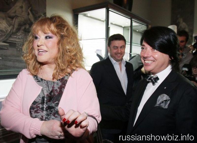 Алла Пугачева и Валентин Юдашкин