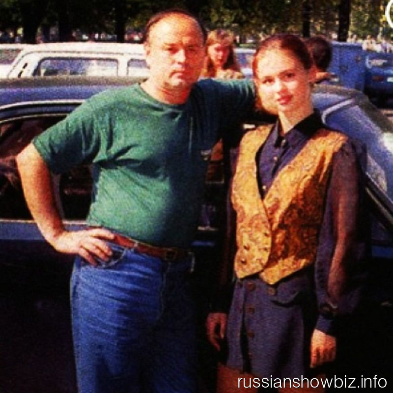 Анна Семенович с папой