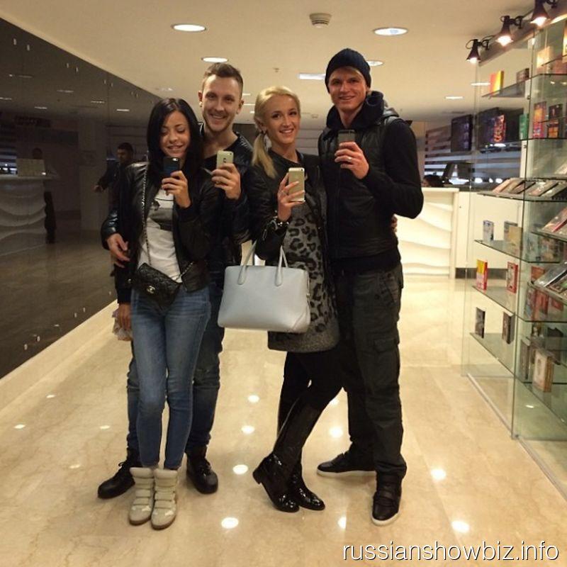 T-Killah с девушкой, Ольга Бузова и Дмитрий Тарасов
