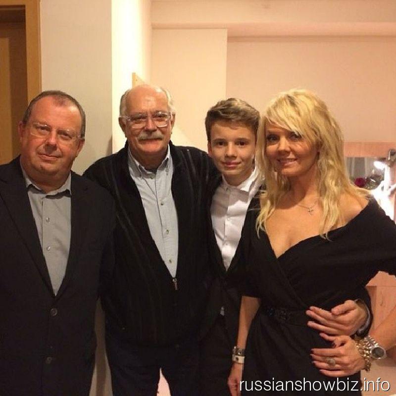 Валерий Пясецкий, Никита Михалков, Арсений Шульгин и Валерия
