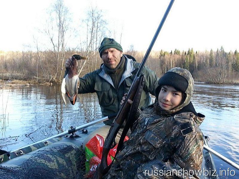 Николай Валуев с сыном Григорием
