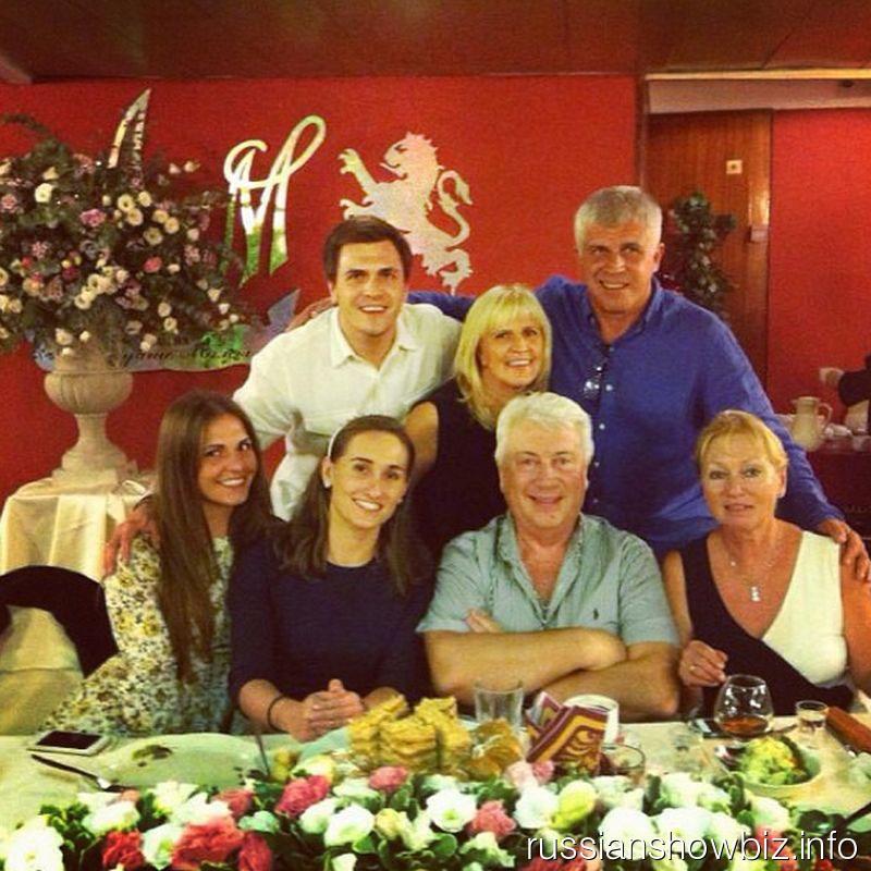 Семья Владимира Винокура