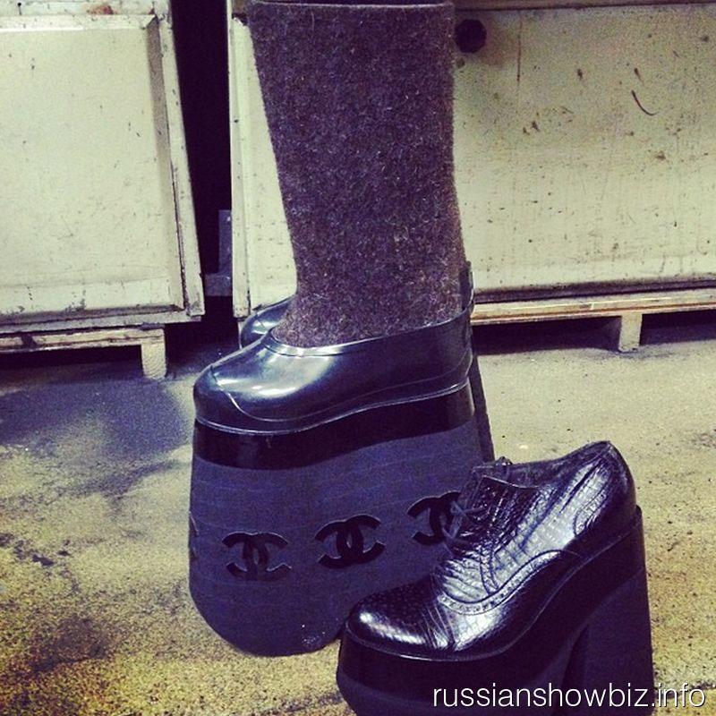 Валенки Сергея Зверева