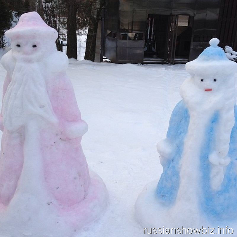 Дед Мороз и Снегурочка Оксаны Федоровой