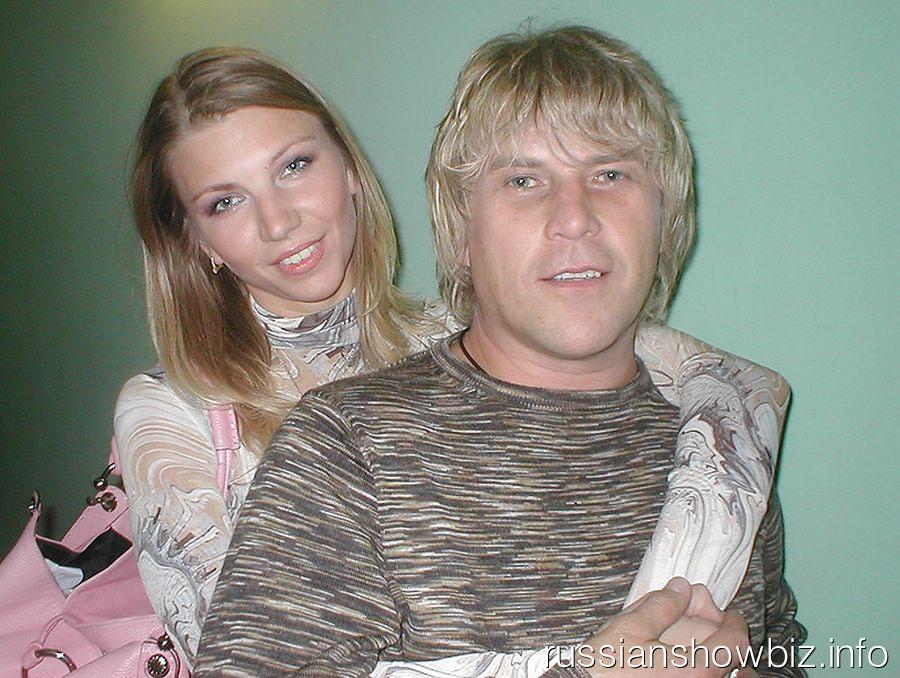 Алексей Глызин с женой Санией