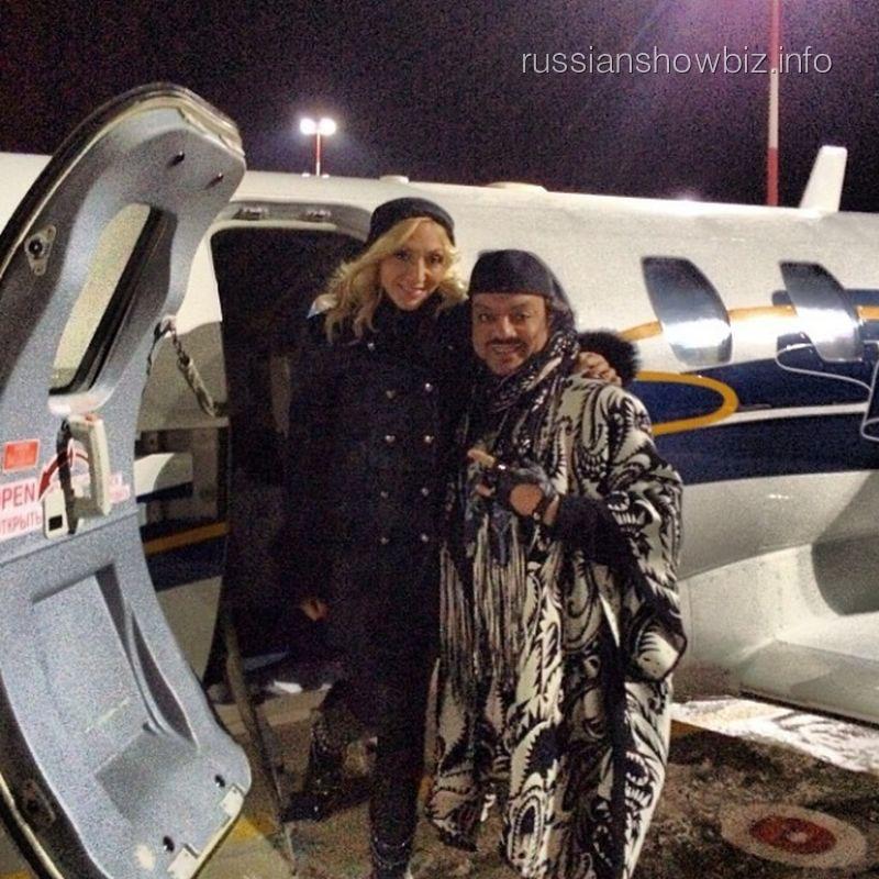 Кристина Орбакайте и Филипп Киркоров