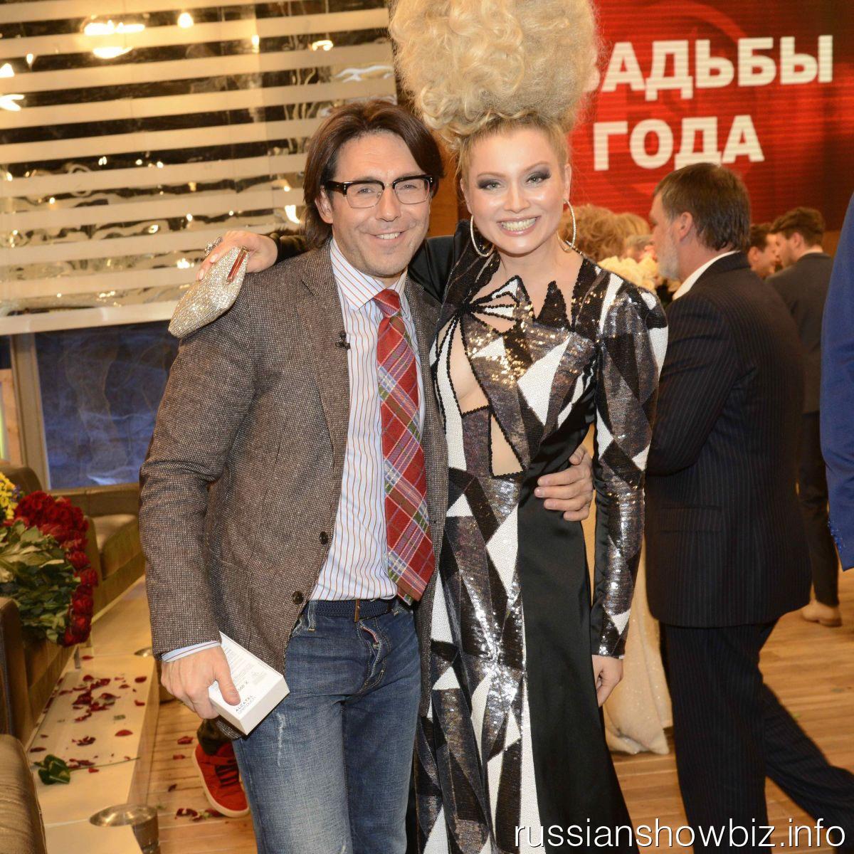 Андрей Малахов и Лена Ленина