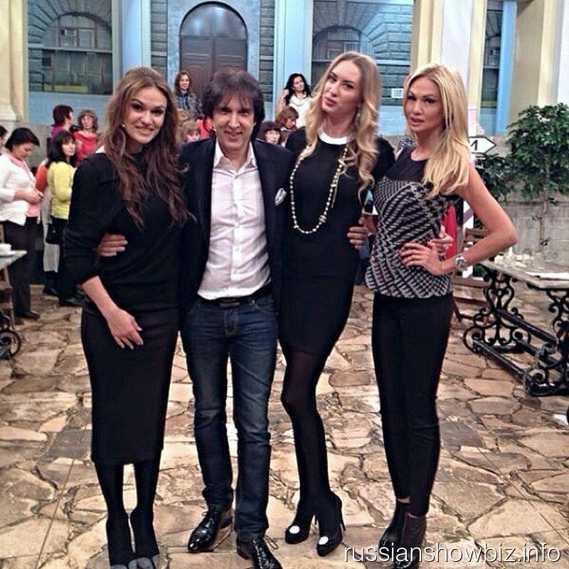 Кай Метов на съемках передачи Гордона