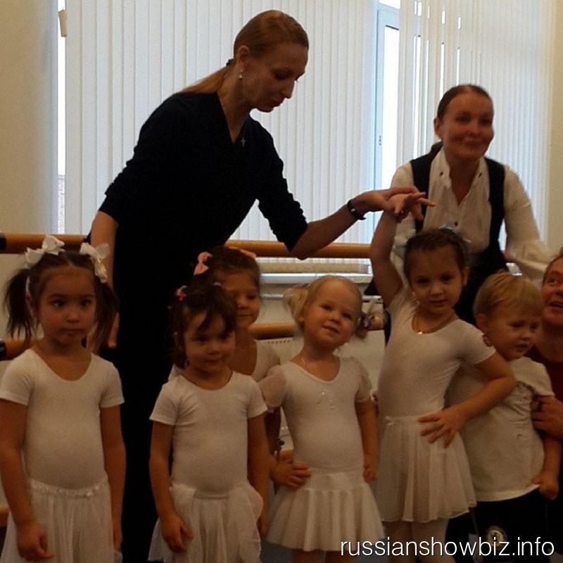 Дочь Стаса Михайлова в балетной школе Илзе Лиепы