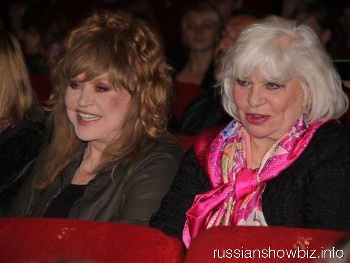 Алла Пугачева и Алина Редель