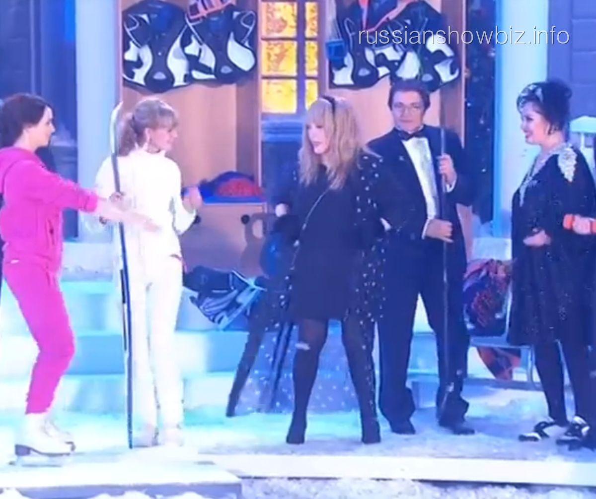 Алла Пугачева на Новогоднем огоньке