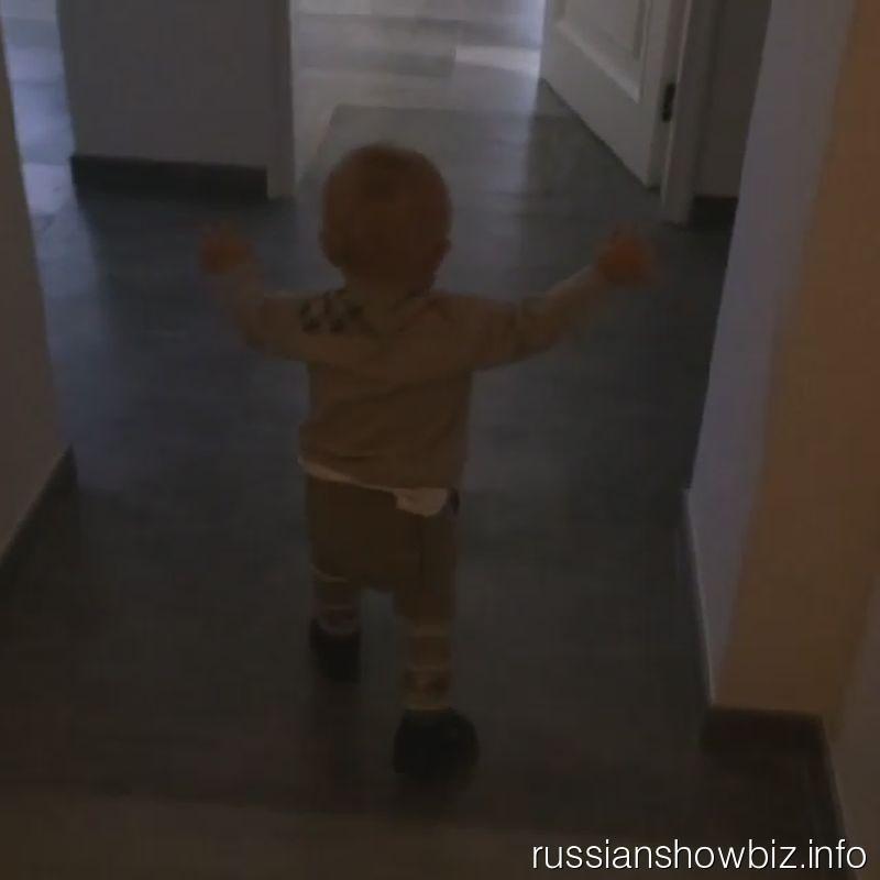 Сын Евгения Плющенко и Яны Рудковской
