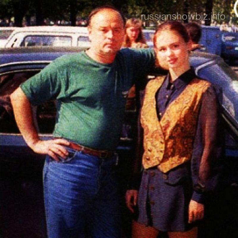 Анна Семенович с отцом