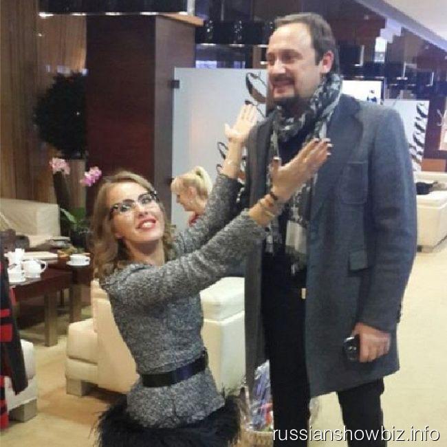 Ксения Собчак и Стас Михайлов