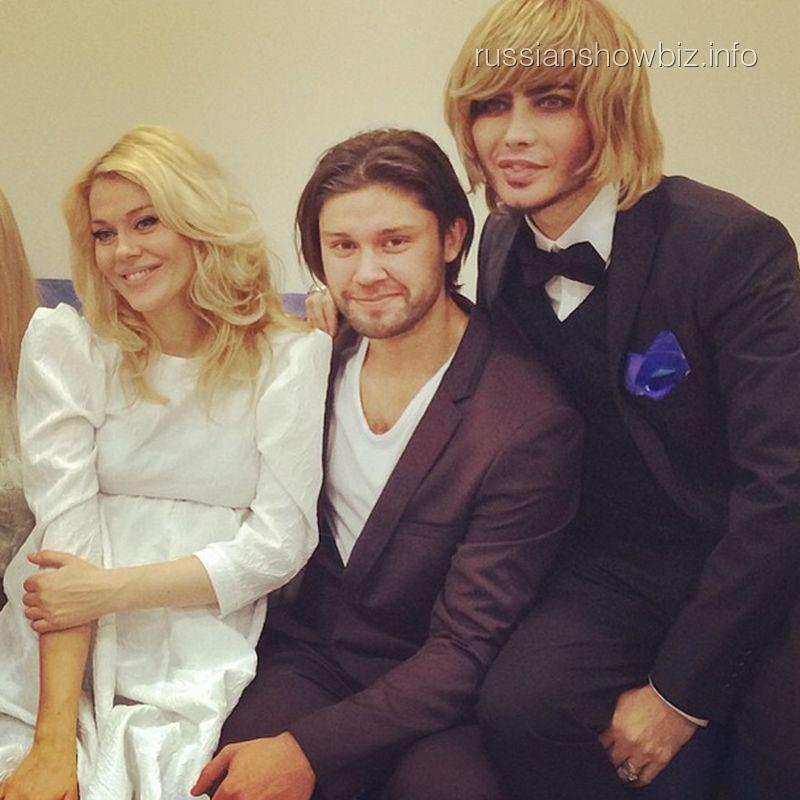 Таня Терешина, Слава Никитин и Сергей Зверев