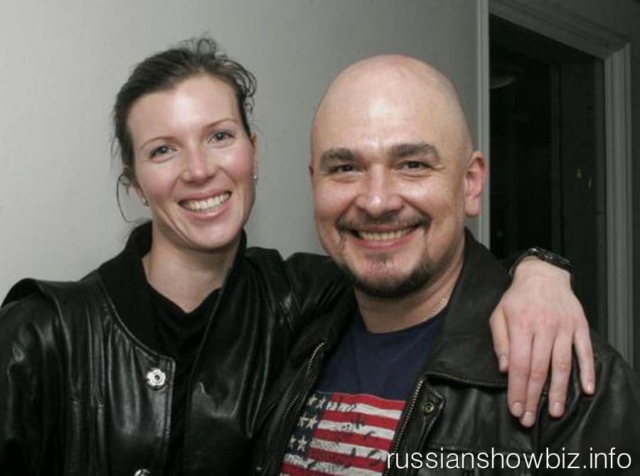 Сергей Трофимов с женой