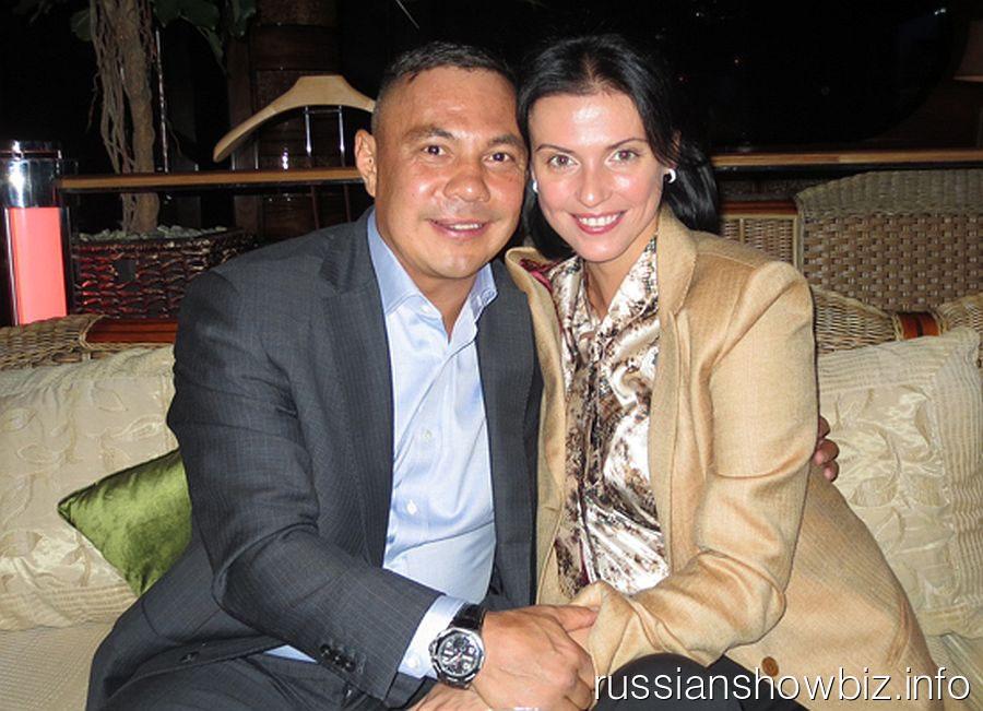 Костя Цзю с новой возлюбленной Татьяной