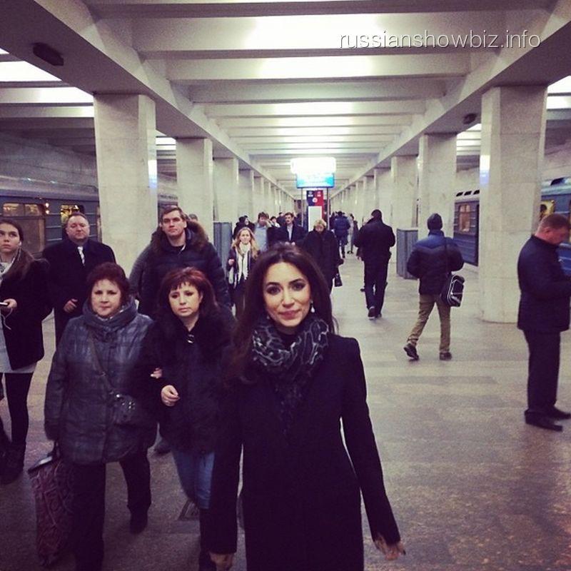 Зара в метро